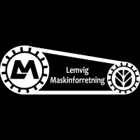 Lemvig Maskinforretning m sort baggr