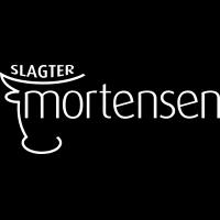 Slagter Mortensen m sort baggr